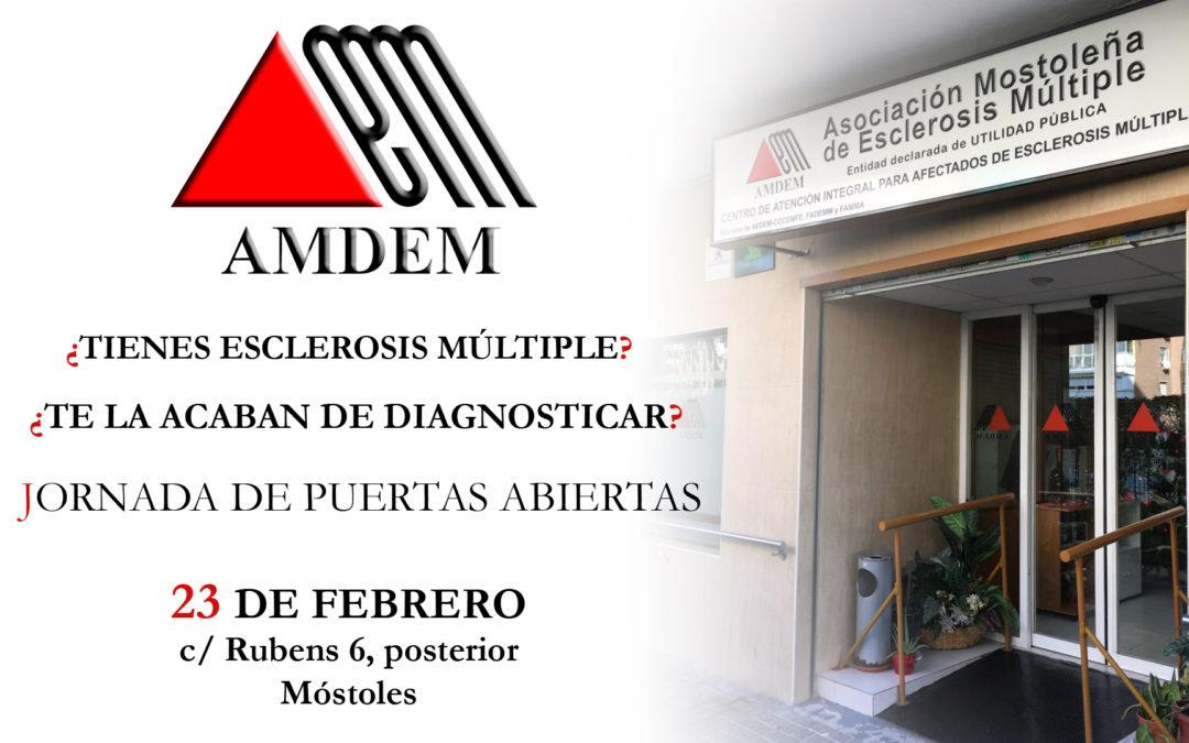 Jornada de Puertas Abiertas en AMDEM