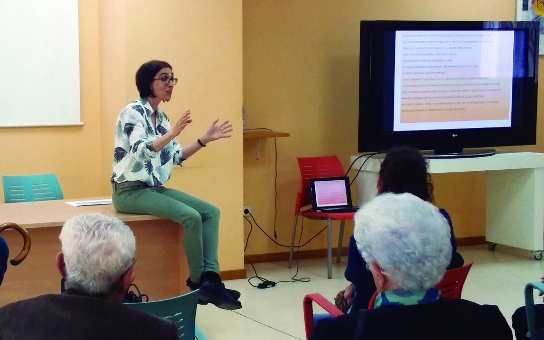 Charla AMDEM en la Semana de la Salud de Alcorcón