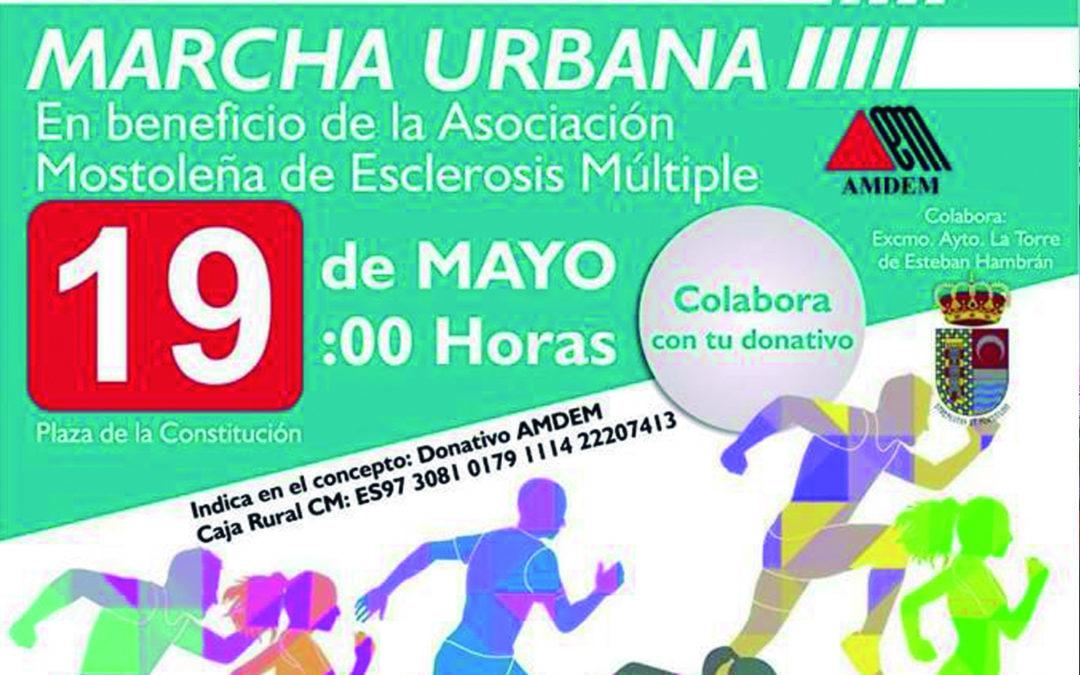 Marcha urbana solidaria a favor de AMDEM