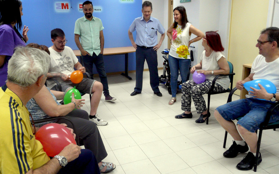 Ganar Móstoles visita nuestro Taller de Psicomotricidad