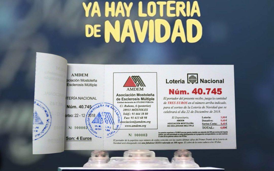 Lotería de Navidad AMDEM 2018