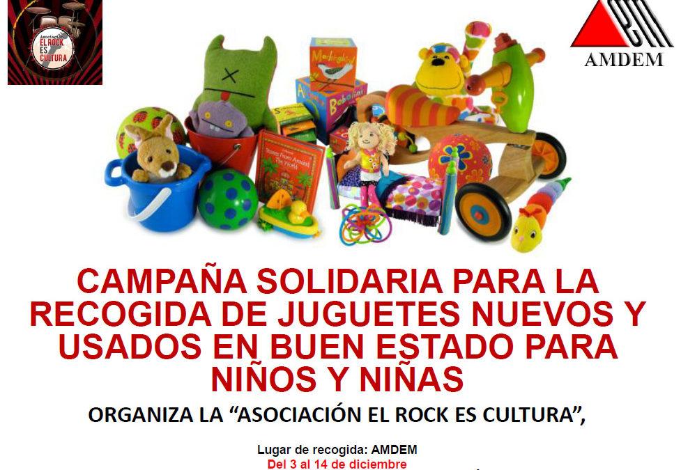 Recogida solidaria de juguetes en AMDEM