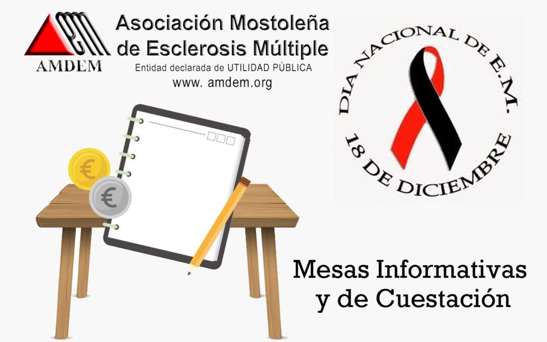 Mesas informativas y de Cuestación – AMDEM