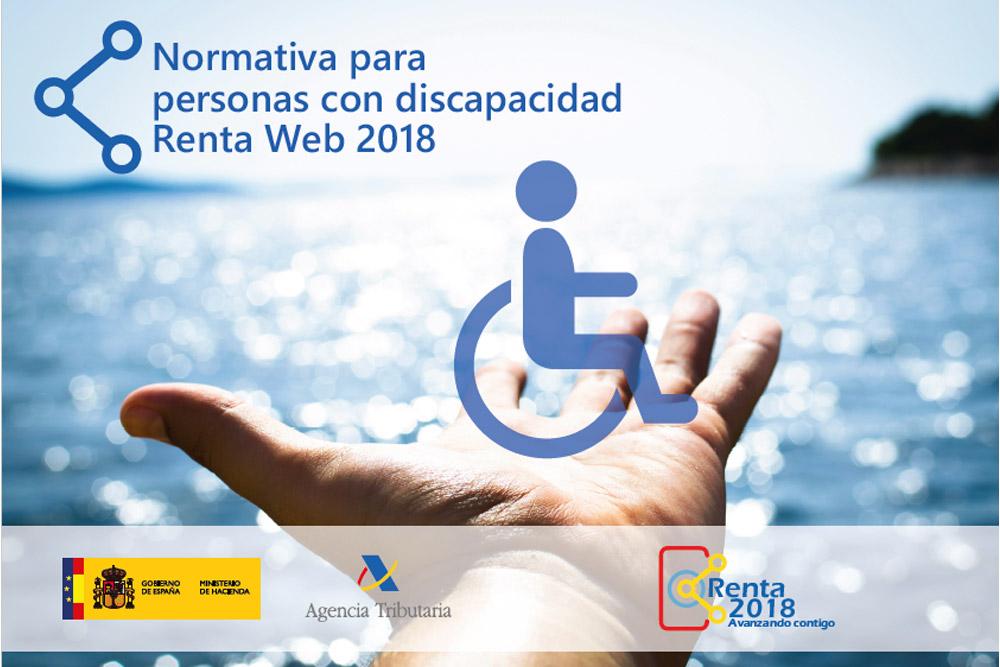Renta 2018  – Normativa para Personas con Discapacidad