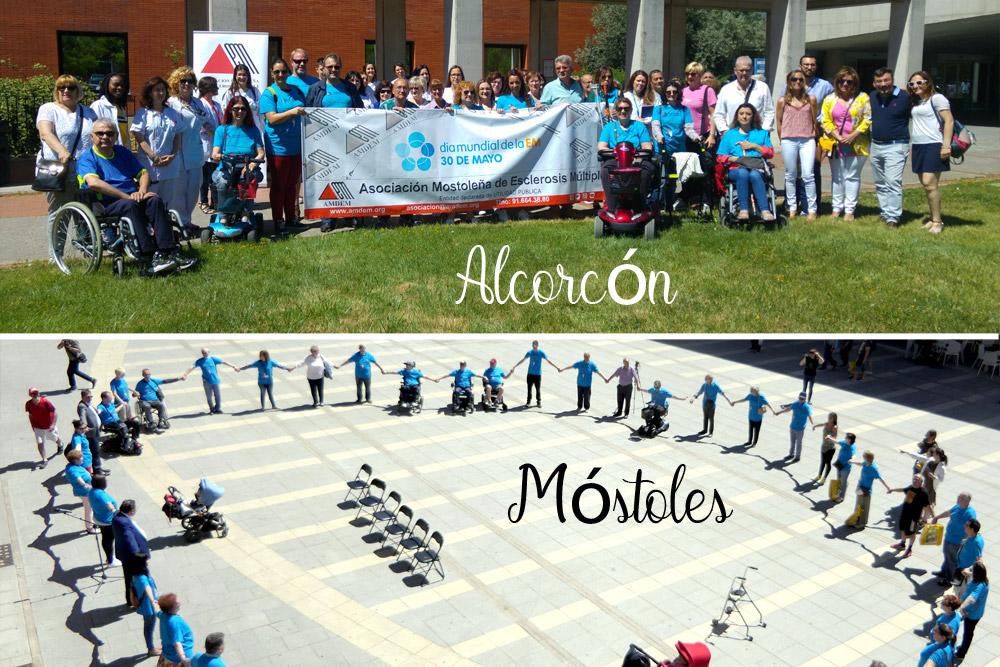 Día Mundial de la Esclerosis Múltiple en Móstoles y Alcorcón
