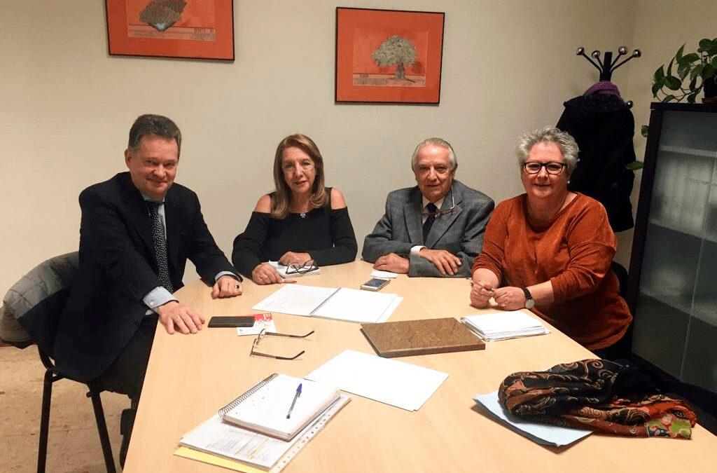 Reunión AMDEM con la Concejalía de Sanidad de Móstoles