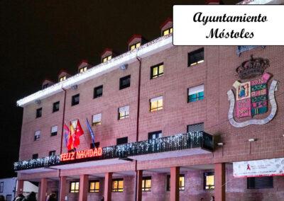 Dia-Nacional-EM-2019-fachada-mostoles-noche1