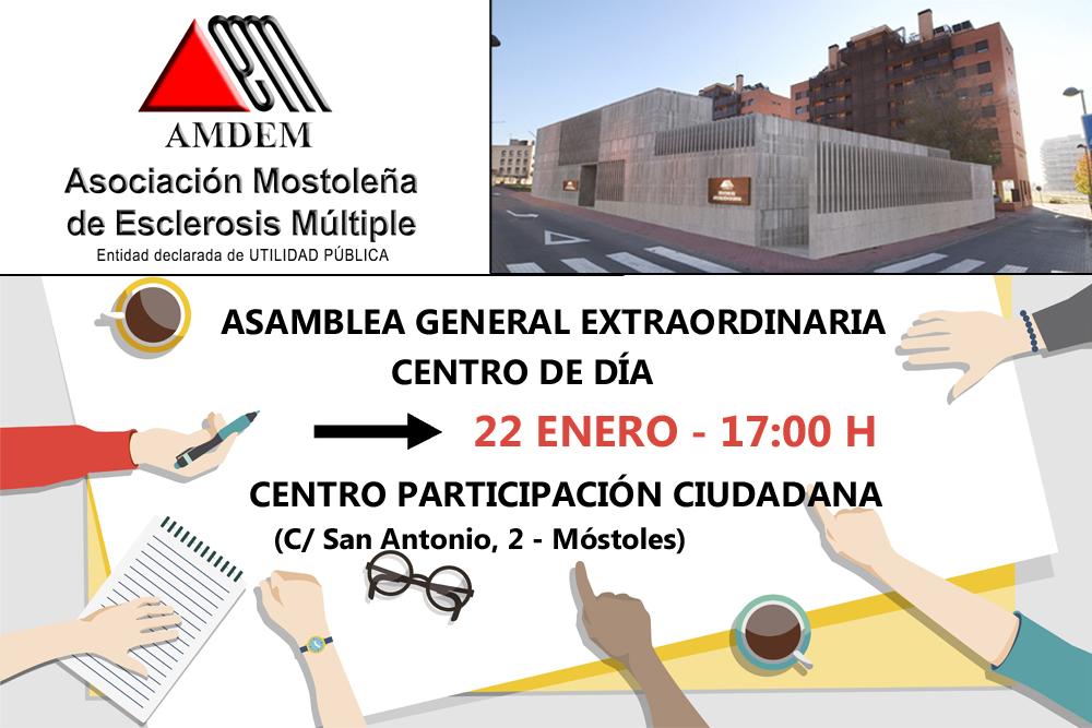 Asamblea General Extraordinaria – Centro de Día