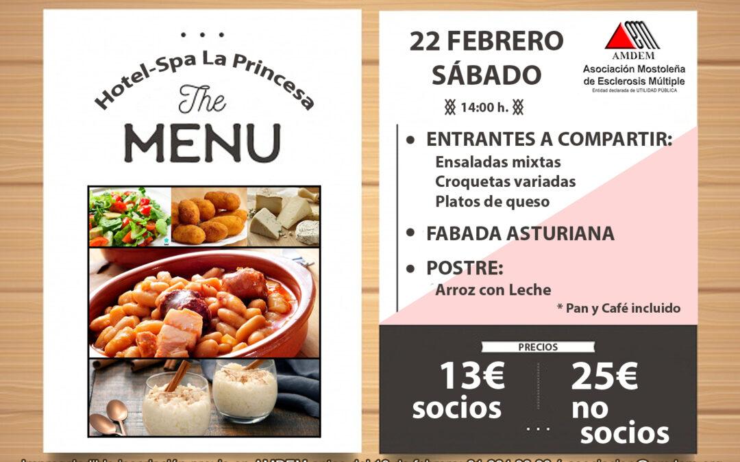 Almuerzo de Fabada Asturiana – 22 de Febrero
