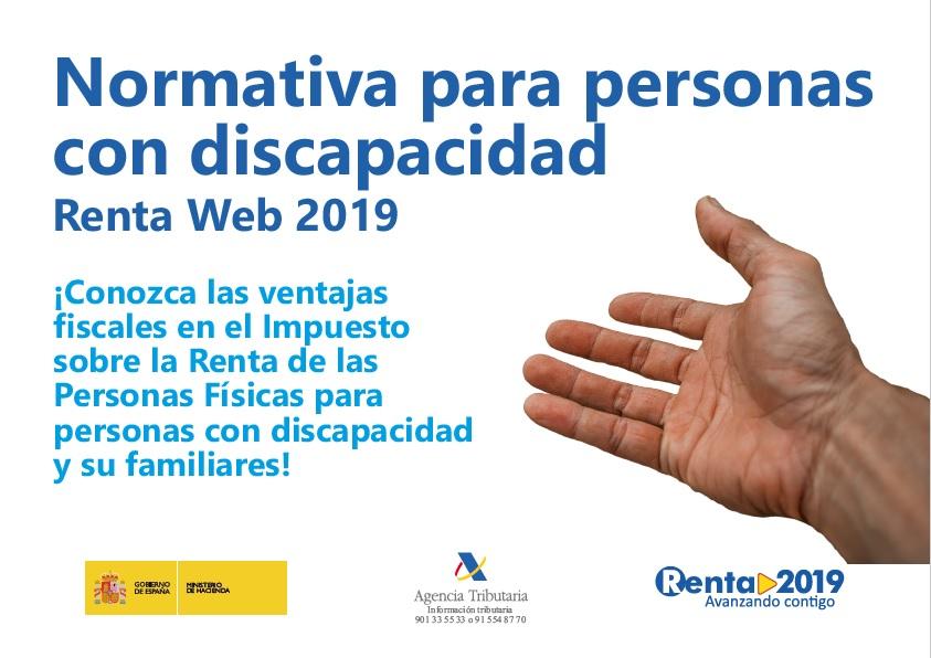 Declaración IRPF personas con discapacidad y familiares