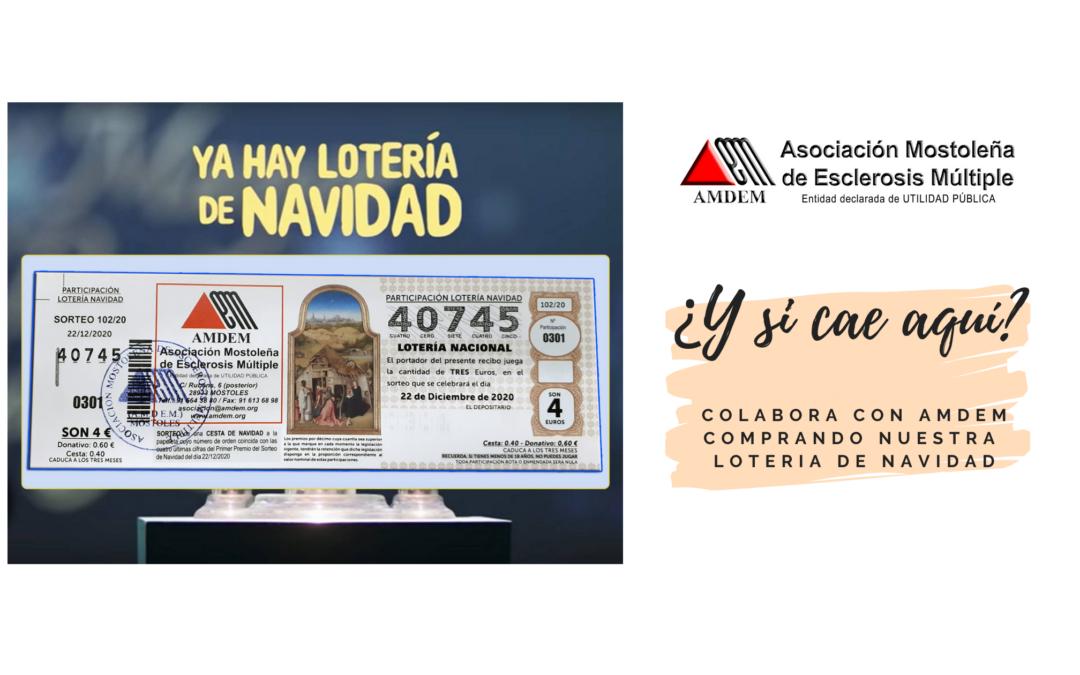 Loteria de Navidad AMDEM 2020