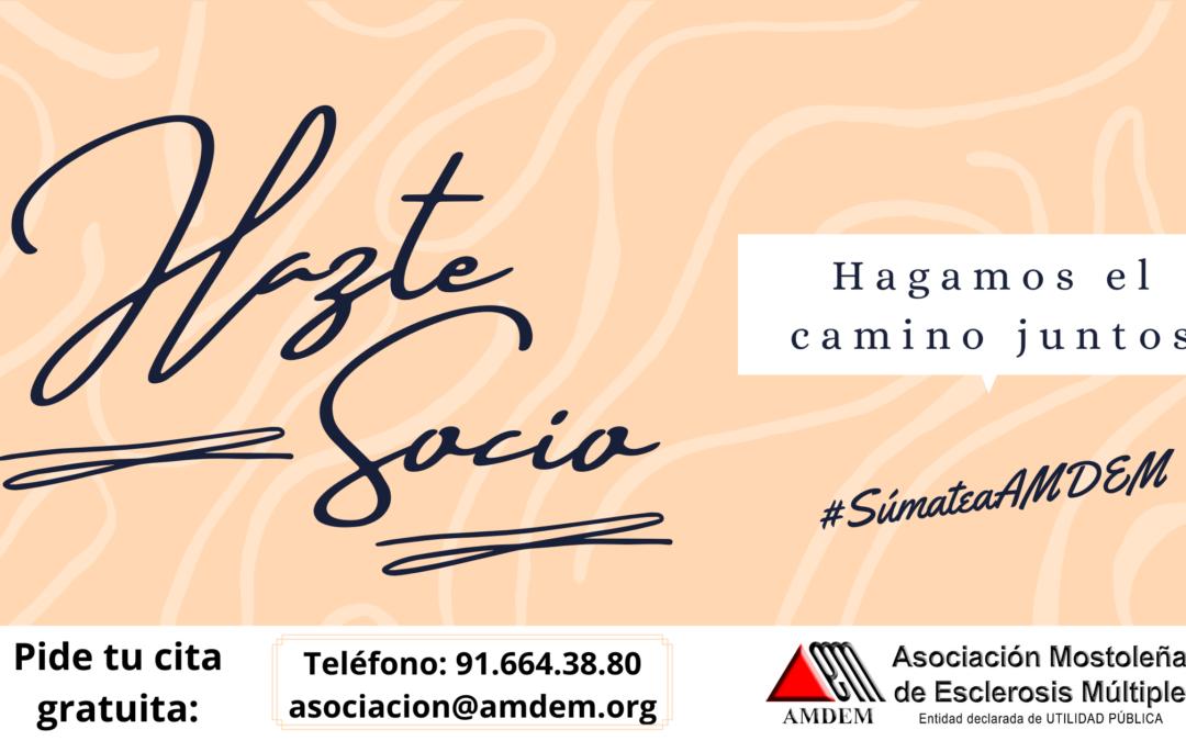 #SúmateaAMDEM y Hazte Socio