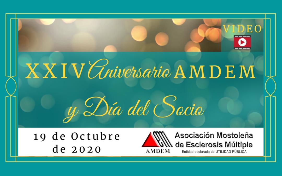Video XXIV Aniversario AMDEM – Día del Socio