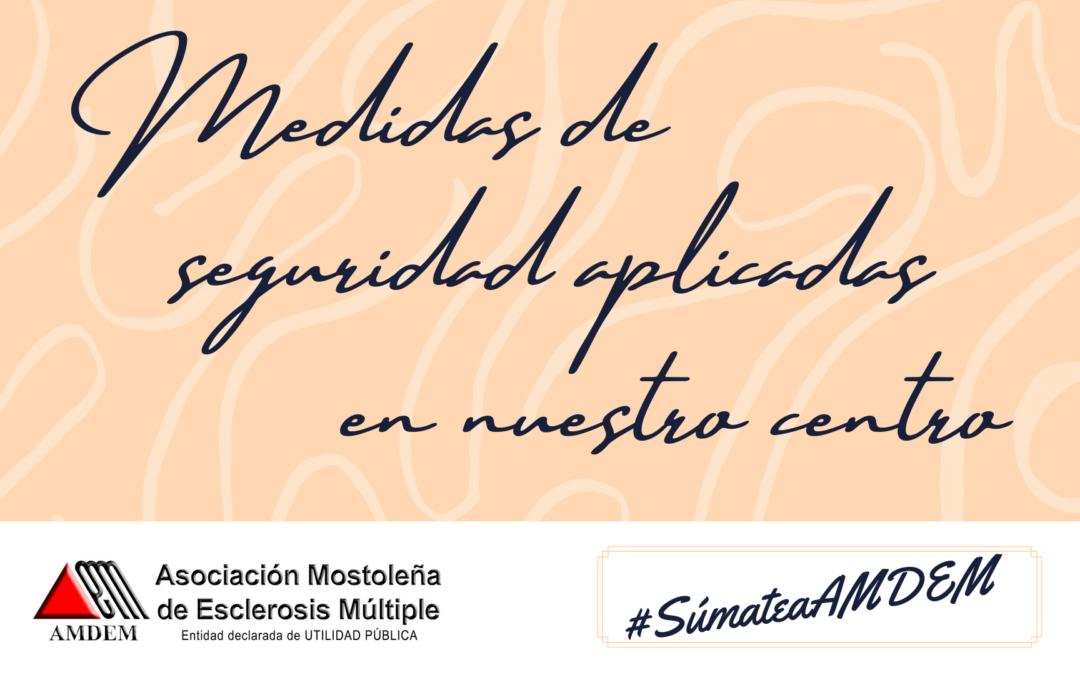 #SúmateaAMDEM – Medidas Anti-Covid19