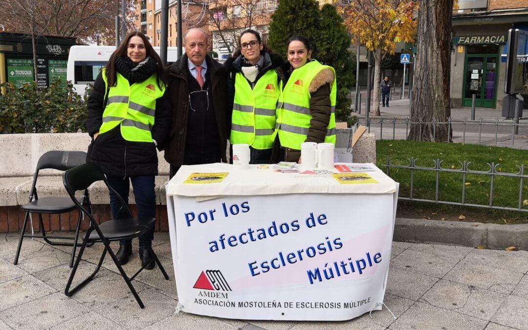 Mesas por la Esclerosis Múltiple – Día Nacional EM