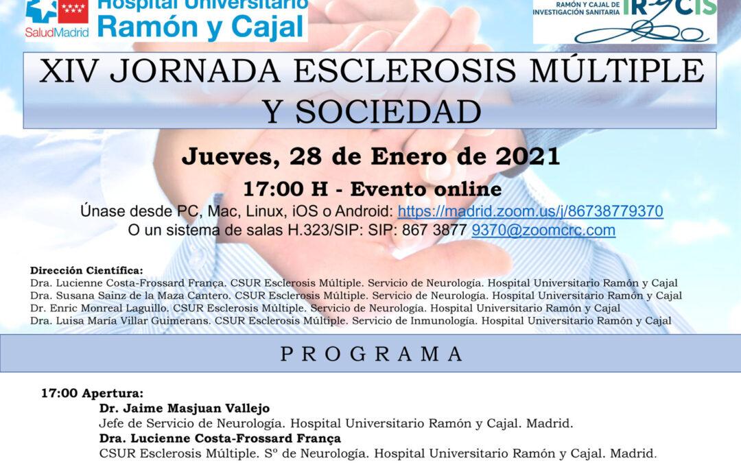 XIV Jornadas Sociedad y Esclerosis Múltiple – Hospital Universitario Ramón y Cajal