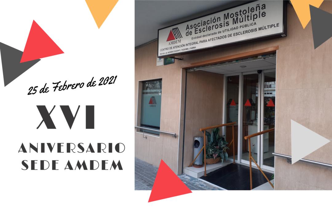 XVI Aniversario de nuestra Sede de AMDEM
