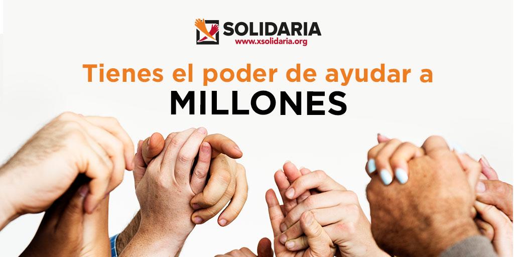 Marca la X Solidaria en tu Renta 2020 – Casilla 106