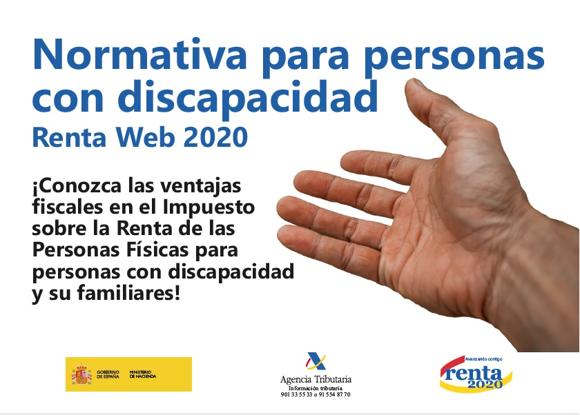 Normativa Personas con Discapacidad – Renta 2020