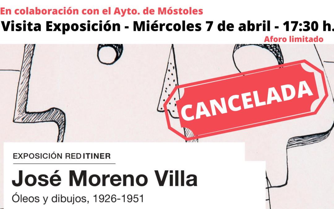 CANCELADA – Visita Exposición José Moreno Villa