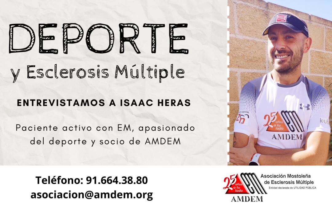 Deporte y Esclerosis Múltiple: Entrevista a Isaac Heras
