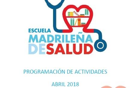Boletín Abril – Escuela Madrileña de Salud