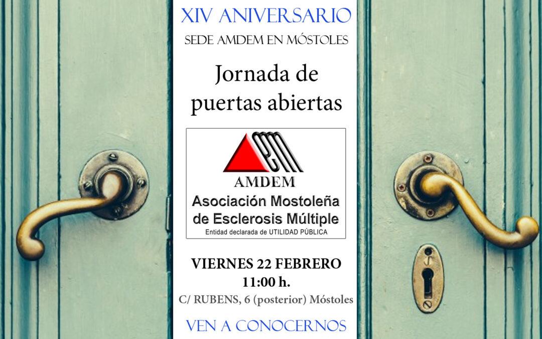 Jornada de Puertas Abiertas – XIV Aniversario Sede AMDEM