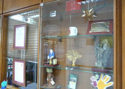 Vitrina y Certificaciones Fundación Lealtad y Calidad ISO 9001