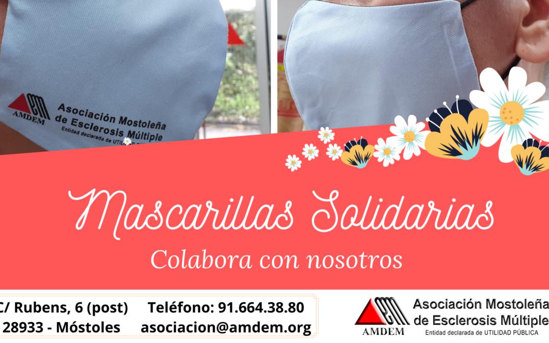 Mascarillas Solidarias – AMDEM 2020
