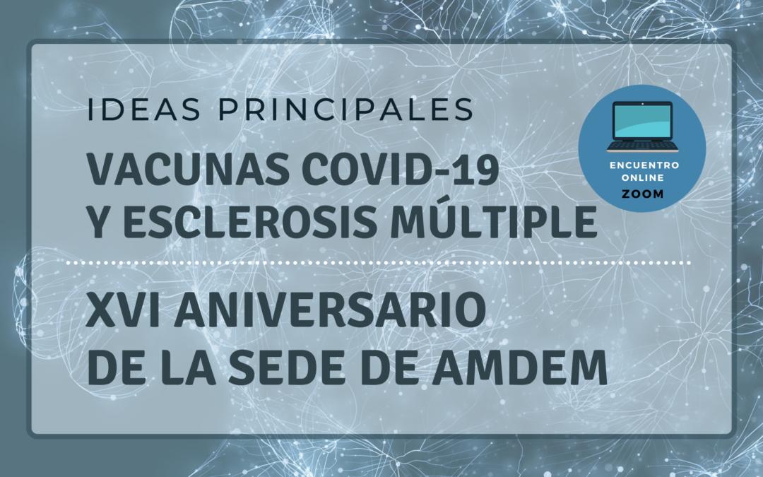 Conclusiones Jornada Vacunas Covid-19 y EM – Ideas Principales