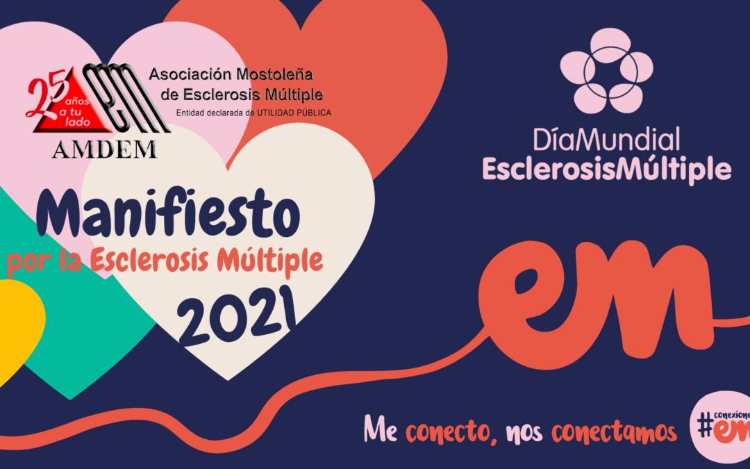 Manifiesto por la Esclerosis Múltiple AMDEM – Día Mundial EM 2021