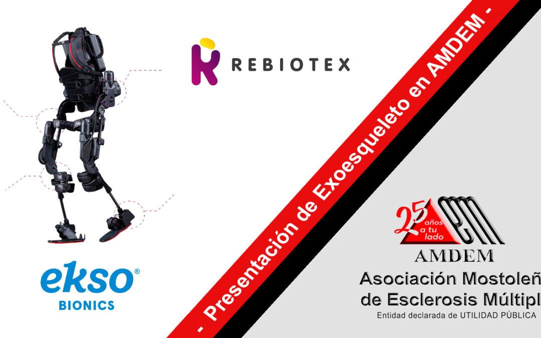 Demostración práctica exoesqueleto EKSO en AMDEM
